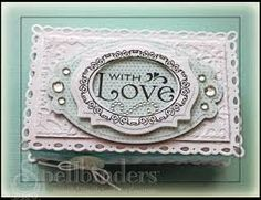 spellbinders romantic rectangles cards - Google Search