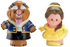 Fisher-Price Little People Disney : Belle And Beast (Set Of 2), 2015 Amazon Top Rated Pretend Play #Toy