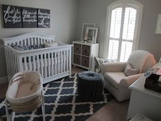 Pots, Pans & Paintbrushes: Blue and Gray Room