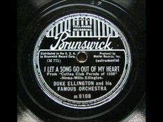 "Duke Ellington - ""I Let A Song Go Out My Heart"" #jazz #vintage"