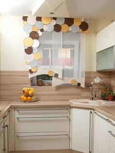 Kitchen Window Treatments, Window Dressings, Diy Home Crafts, My Dream Home, Decoration, Kitchen Remodel, Shabby Chic, Windows, Curtains