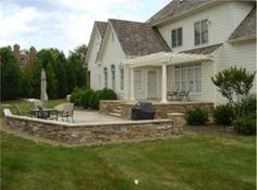 stamped concrete patio designs | Custom Designed Patios VA