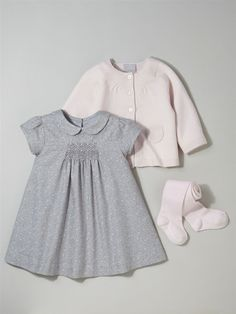 Photoshop Sup Photo - Silhouette BABY'S WOOL/COTTON CARDIGAN + BABY'S SMOCKED DRESS + GIRL'S PLAIN TIG... 967984035290161
