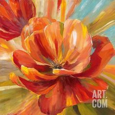Island Blossom II Art Print by Nan at Art.com