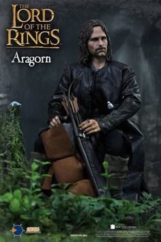 "Aragorn Lord of the Rings 1/4 Scale (18"") action figure"
