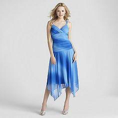 Trixxi Junior's Hanky Hem Evening Dress