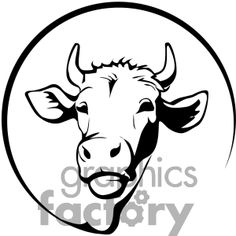 Cow Clipart, Cow Vector, Vector Clipart, Vector Art, Cow Tattoo, Truck Window Stickers, Cow Logo, Animal Templates, Image Formats