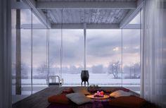 CGarchitect - Professional 3D Architectural Visualization User Community | Dutch Landscapes - Winter Cabin