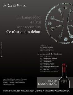 Publicis Activ Marseille   Vins du Languedoc