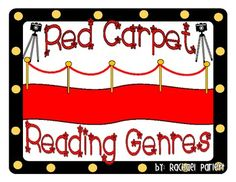 Use these reading genre posters as a perfect addition to your Hollywood/Movie theme in your classroom!  The posters include the genre name and a de...