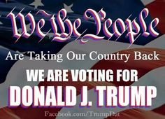 Trump for president!  Made my mind up today after the mass shooting.  Another Terrorist killing Americans.  Trump is the only one who will do something to stop this.  Praying for Trump to sincerely meet Jesus!!! Trump ,I'm praying for you.  God bless the families of the victims!  -JPR