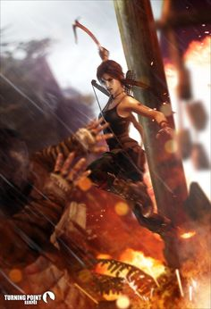 The born survivor V Games, Comic Games, Video Games, Tomb Raider Video Game, Tom Raider, Saga, Tomb Raider Lara Croft, Rise Of The Tomb, Fanart