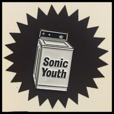 Sonic youth vintage pin
