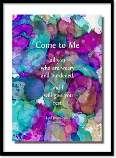 """169.  """"The Great Invitation"""" . . . with a promise. . . . by Matt Violassi (layered inks)"""