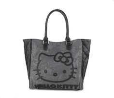 Hello Kitty Tote Bag: Quilted Floral Collection