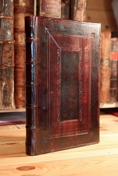 Cambridge style binding | by Vitrearum (Allan Barton)