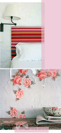 Poppytalk - The beautiful, the decayed and the handmade: Inspiration: Pink