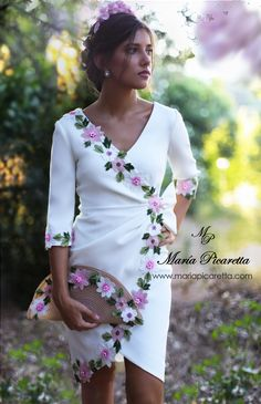 New sewing simple dresses classy Ideas Flowery Dresses, Simple Dresses, Beautiful Dresses, Casual Dresses, Short Dresses, Prom Dresses, Formal Dresses, Wedding Dresses, Vestidos Fashion