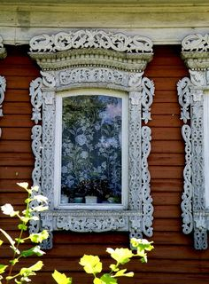 """Nalichink"" - Russian window frame."