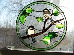 Stained Glass Pictures of Birds | Stained Glass Shack 63 West Main Street PO Box 1604 Conway, NH, 03818 ...