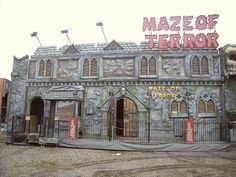 Maze of Terror Ghost Train