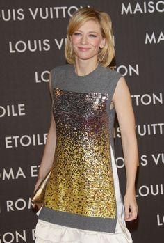 Cate Blanchett -- Maison Louis Vuitton Roma Etoile Opening Party