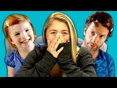 ▶ Teens React to Convos With My 2 Year Old -  Bahahaha this is the funniest thing ever! Sam's Home Video, bahaha this freaking made my day!!!!