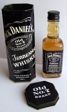 Jack Daniel's Whiskey Miniature Liquor Bottles