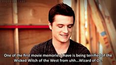 """One of the first movie memories I have is being terrified of the Wicked Witch of the West from uhh...Wizard of Oz."""
