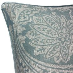 Opulent Cushion Cover, Duck Egg