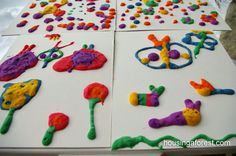 Microwave Puffy Paint recipe ~ Part art; part science!