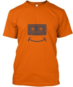 Emoji - Tape Cassette Smiley T-Shirt
