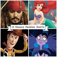 15 Disney Fashion Don'ts