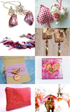 Etsy #treasury #Valentine Gifts That Won't Break the Bank by LeAnn Frobom on Etsy--Pinned with TreasuryPin.com