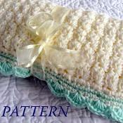 Baby Blanket - via @Craftsy