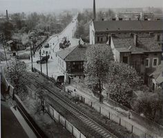 Libeňská kronika added a new photo. History Photos, Old Pictures, Railroad Tracks, Retro, Architecture, City, Photography, Travel, Inspiration