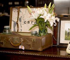 gift table - card holder idea
