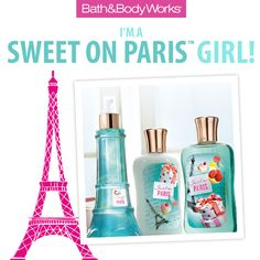 I just took a tour of Paris with Bath & Body Works! What kind of Paris girl are you?