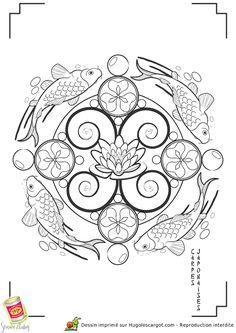 Kleurplaat Mandala kleurplaten (5196) | kleurplaten