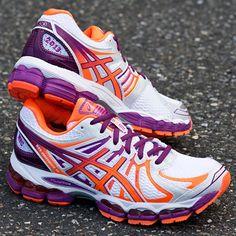 ASICS GEL-Nimbus® 15 NYC Lady White/Electric Orange/Orchid : Holabird Sports