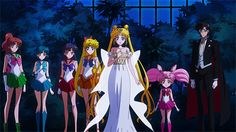 sailor moon crystal | Tumblr                                                                                                                                                                                 Más