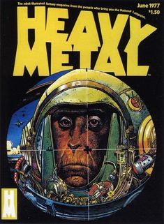 Heavy Metal Volume 01 Number 03 June 1977 Front Cover