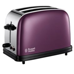 Russell Hobbs Purple 14963 two slice toaster Tidy Kitchen, Kitchen Gadgets, Kitchen Stuff, Cooking Appliances, Kitchen Appliances, Russell Hobbs, Purple Kitchen, Cord Storage, Thing 1
