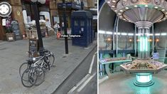 visit the tardis on google maps