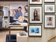 Mey lingerie store by Konrad Knoblauch, Constance – Germany Shop Interior Design, Retail Design, Design Blog, Layout Design, Lingerie Store Design, Underwear Store, Bra Shop, Lounge Areas, Stores
