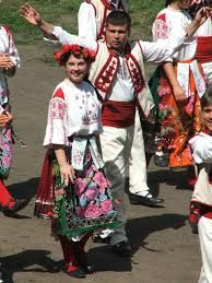 Traditional Bulgarian outfits