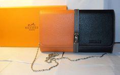 Buy Designer Hermes Jet Pochette Clutch Bag Clemence Leather ...