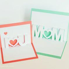 Ya no falta nada para el #DíadelaMadre, ¿sabes qué le vas a regalar a mamá? Una bonita tarjeta hecha a mano como esta de @1dogwoof puede ser un regalo fenomenal. Recuerda que puedes encontrar más ideas como ésta en la sección #manualidades de nuestra web #mothersday #crafts #kids #gifts