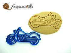 Motorcycle Cookie Cutter/Multi-Size by Francesca4me on Etsy