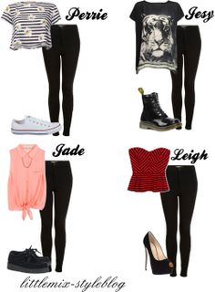 little mix polyvore outfits - Google Search